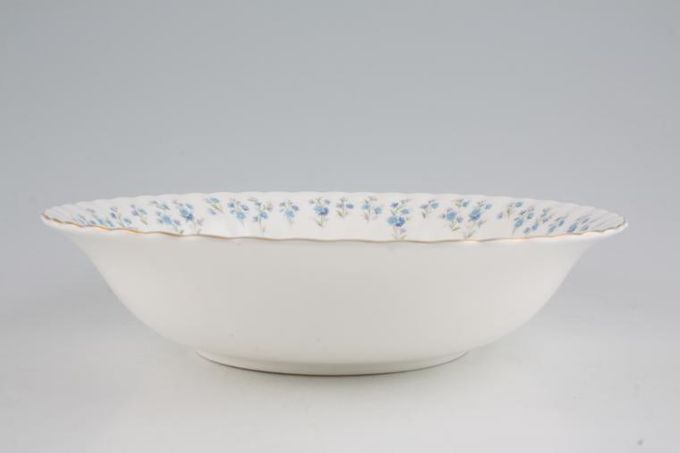 "Royal Albert Memory Lane Salad Bowl 9 1/2"""