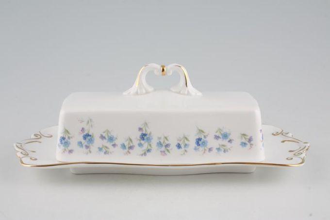 Royal Albert Memory Lane Butter Dish + Lid Oblong