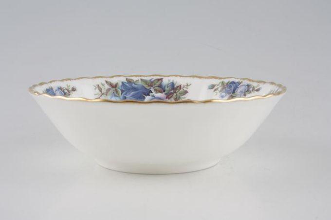 """Royal Albert Moonlight Rose Soup / Cereal Bowl 6 1/4"""""""