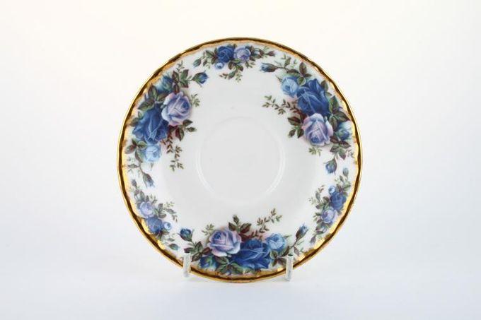 """Royal Albert Moonlight Rose Tea Saucer Fluted edge 5 1/2"""""""