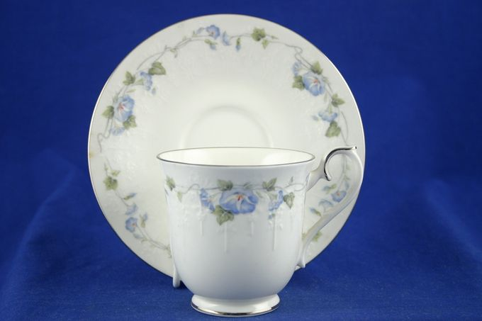 "Royal Albert Morning Flower Tea Saucer 6"""