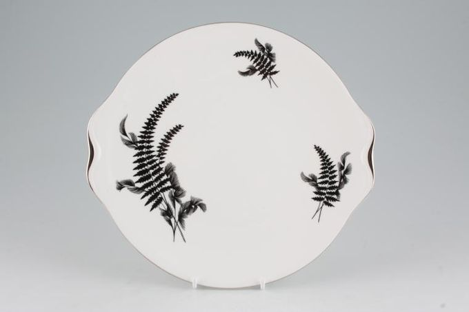 """Royal Albert Night And Day Cake Plate 9 1/2"""""""