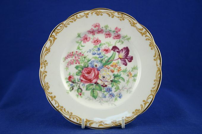 "Royal Albert Nosegay Tea / Side Plate 6 1/4"""