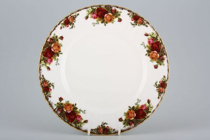 """Royal Albert Old Country Roses - Made in England Dinner Plate 10 1/4"""""""
