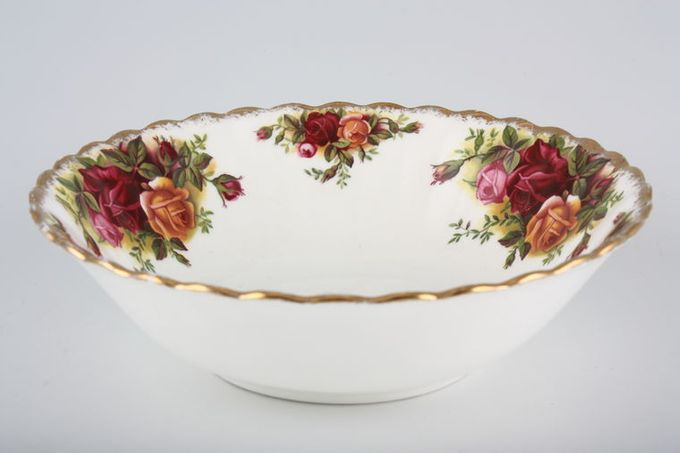 Royal Albert Old Country Roses - Made in England Soup / Cereal Bowl 6 1/4""