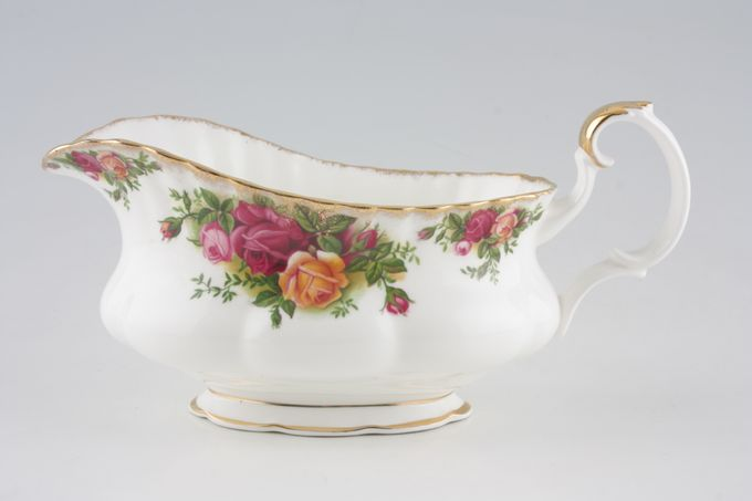 Royal Albert Old Country Roses - Made in England Sauce Boat