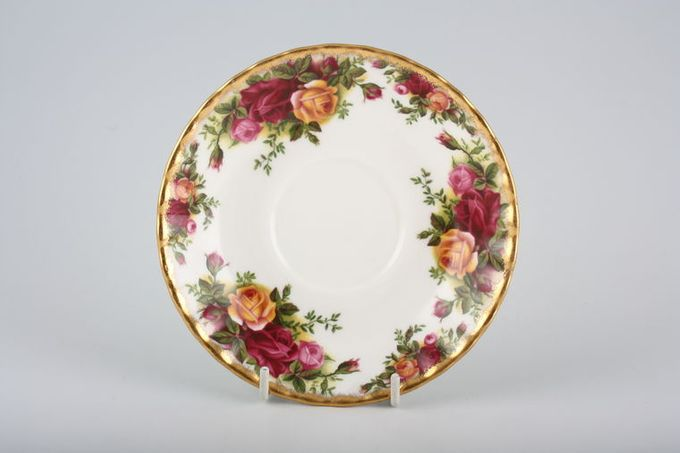 """Royal Albert Old Country Roses - Made in England Breakfast Saucer 6 1/8"""""""