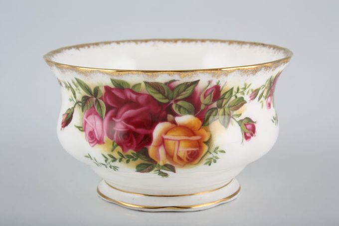 Royal Albert Old Country Roses - Made in England Sugar Bowl - Open (Tea) 4 1/4""