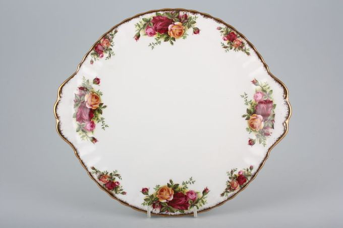 Royal Albert Old Country Roses - Made in England Cake Plate 10 1/4""