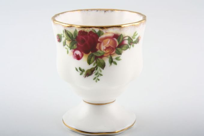 Royal Albert Old Country Roses - Made in England Egg Cup Montrose shape - footed.