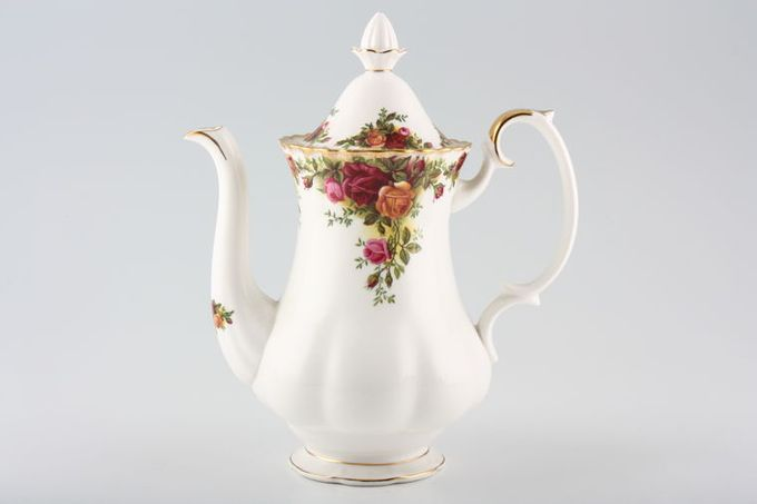 Royal Albert Old Country Roses - Made in England Coffee Pot Large 2 1/2pt