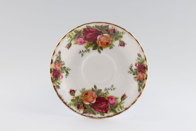 Royal Albert Old Country Roses - Made in England Coffee Saucer 4 7/8""