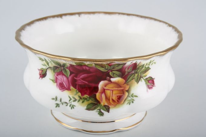 """Royal Albert Old Country Roses - Made in England Sugar Bowl - Open (Coffee) 3 5/8"""""""