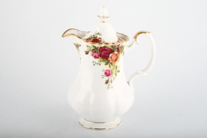 Royal Albert Old Country Roses - Made in England Hot Water Jug Lidded