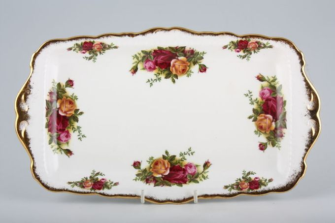 Royal Albert Old Country Roses - Made in England Sandwich Tray 11 1/2""