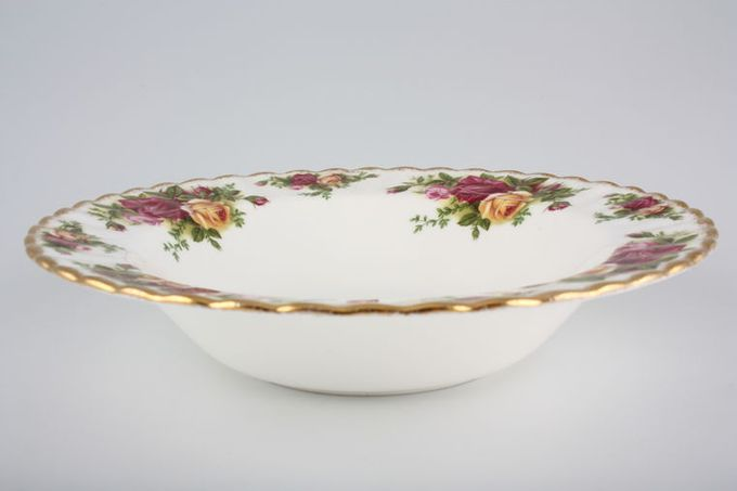 Royal Albert Old Country Roses - Made in England Rimmed Bowl 8""