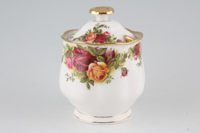 Royal Albert Old Country Roses - Made in England Jam Pot + Lid