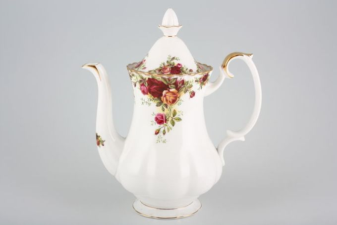Royal Albert Old Country Roses - Made in England Coffee Pot 1 1/2pt