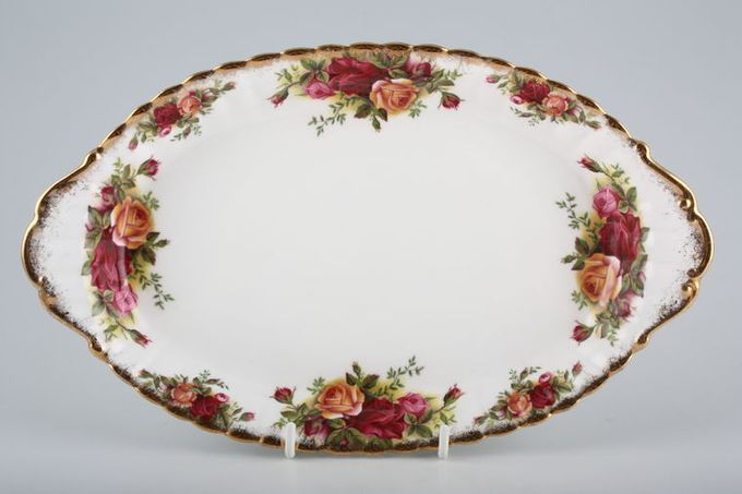 """Royal Albert Old Country Roses - Made in England Dish (Giftware) Oval, eared 10 1/2"""""""