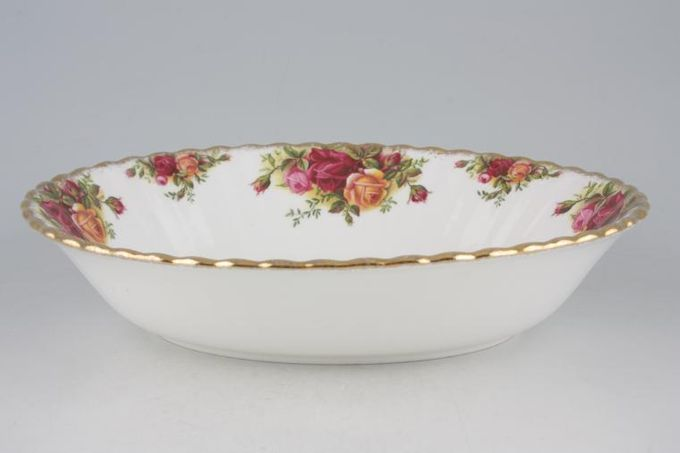 Royal Albert Old Country Roses - Made in England Vegetable Dish (Open) Oval 9""