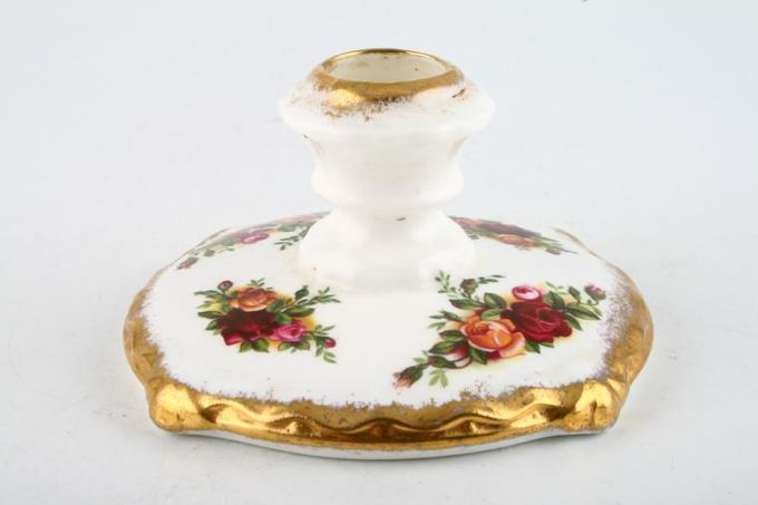 Royal Albert Old Country Roses - Made in England Candlestick 4 x 2""