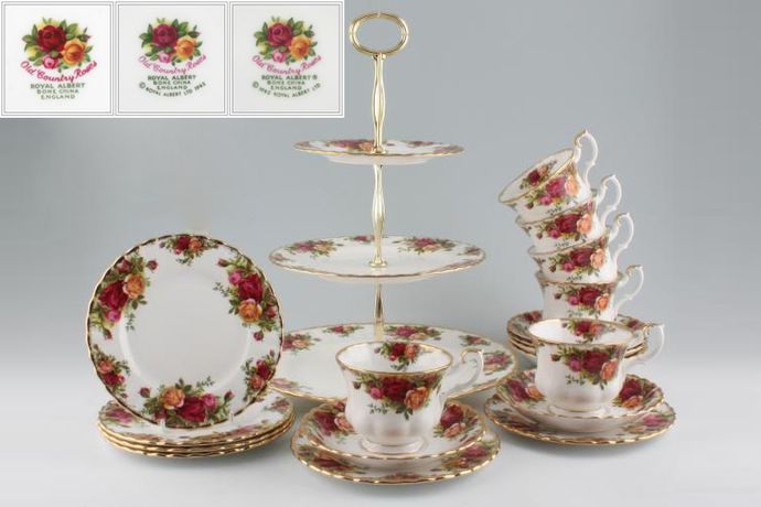 Royal Albert Old Country Roses - Made in England