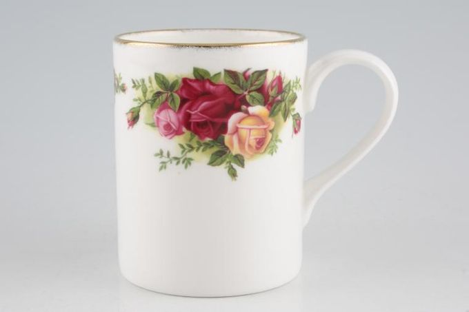 """Royal Albert Old Country Roses - Made in England Mug Straight Sided 3 x 3 3/4"""""""