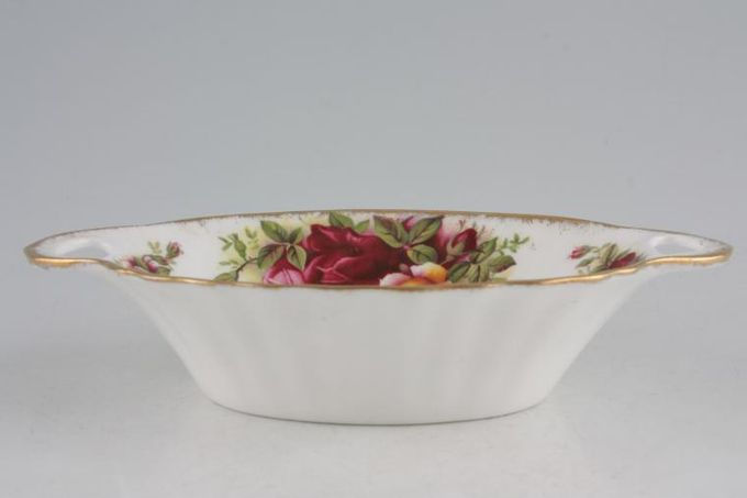 Royal Albert Old Country Roses - Made in England Dish (Giftware) Oval - Open Eared 5 3/4 x 3 1/2""