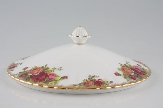 Royal Albert Old Country Roses - Made in England Vegetable Tureen Lid Only