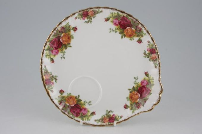 """Royal Albert Old Country Roses - Made in England TV Tray Round 8 3/4"""""""