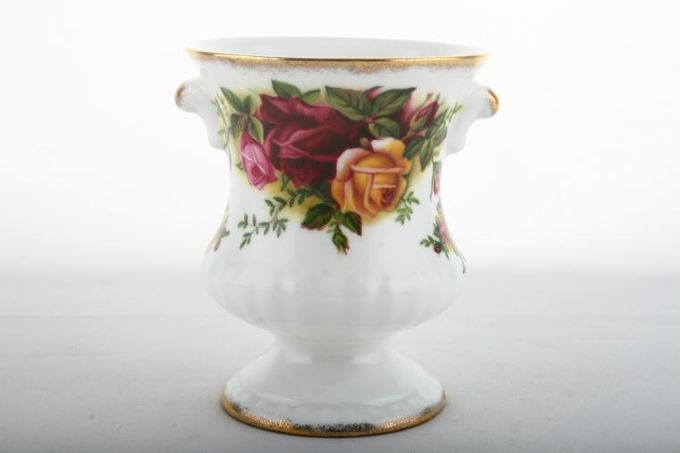 Royal Albert Old Country Roses - Made in England Urn 2 7/8 x 3 1/2""