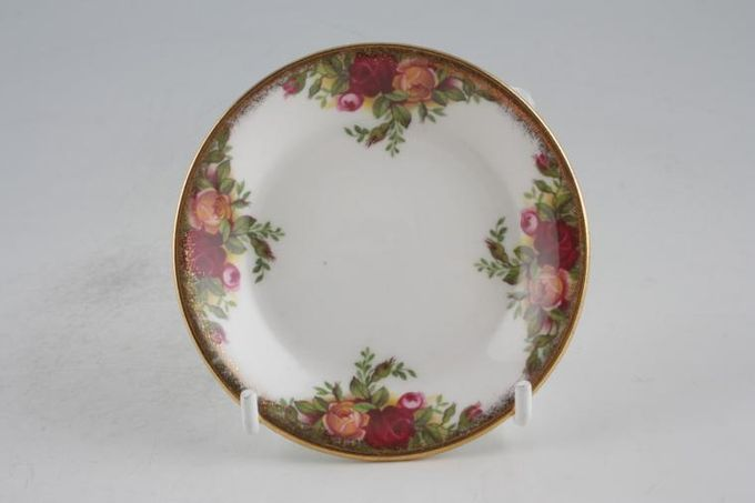 """Royal Albert Old Country Roses - Made in England Butter Pat 3 1/2"""""""
