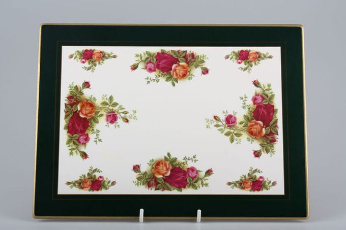 Royal Albert Old Country Roses - Made in England Placemat Set of 6 made by cloverleaf