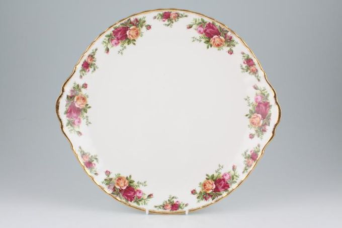 Royal Albert Old Country Roses - Made in England Cake Plate 11 1/2""