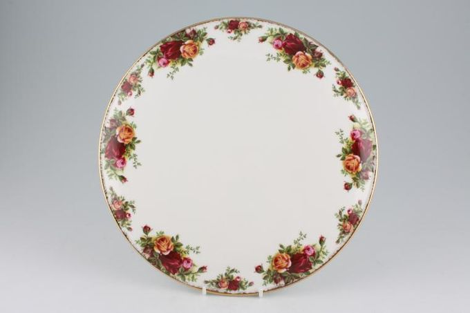 Royal Albert Old Country Roses - Made in England Gateau Plate 11""