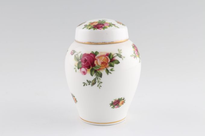 """Royal Albert Old Country Roses - Made in England Ginger Jar Small 4"""""""