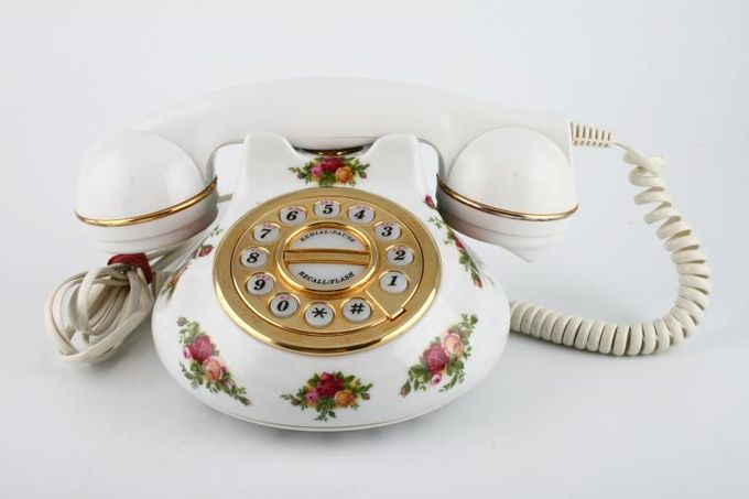 Royal Albert Old Country Roses - Made in England Telephone