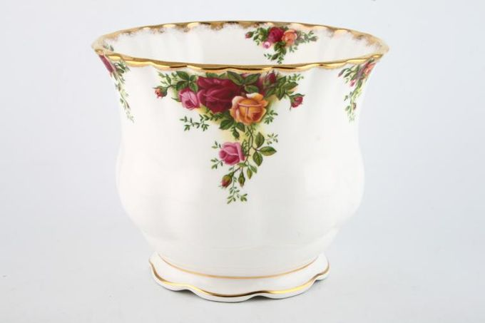 Royal Albert Old Country Roses - Made in England Plant Holder 6 1/2 x 5 1/2""