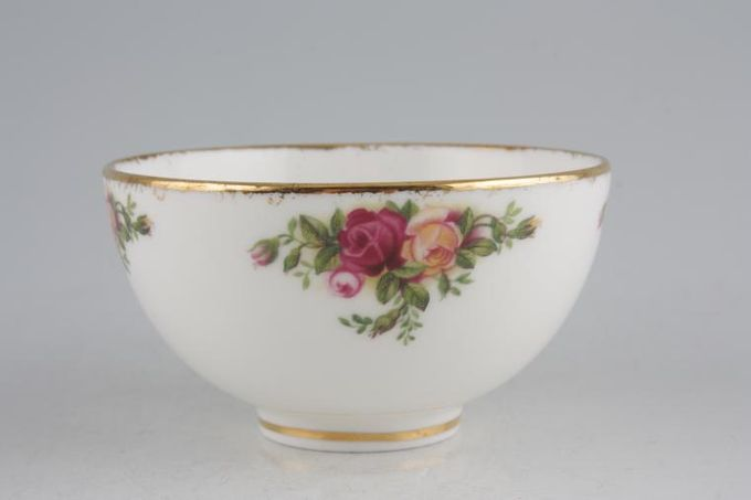 Royal Albert Old Country Roses - Made in England Sugar Bowl - Open (Coffee) Smooth thick gold rim 3 1/2""
