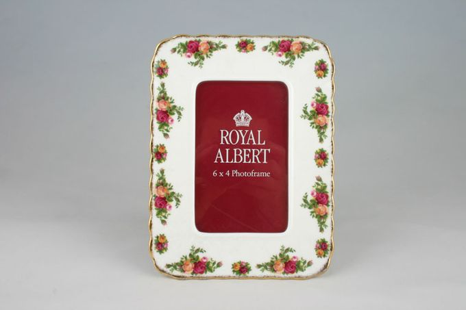 """Royal Albert Old Country Roses - Made in England Photo Frame 6 1/4 x 8 1/4"""""""