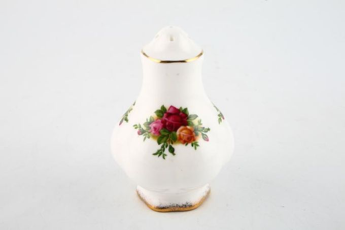 Royal Albert Old Country Roses - Made in England Salt Pot 5 holes, No Backstamp 3""