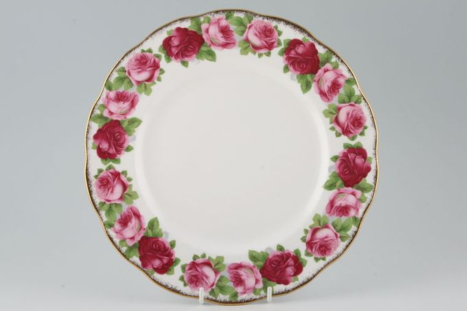 """Royal Albert Old English Rose - New Style Dinner Plate 10 1/2"""""""