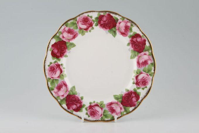 "Royal Albert Old English Rose - New Style Starter / Salad / Dessert Plate 8"""