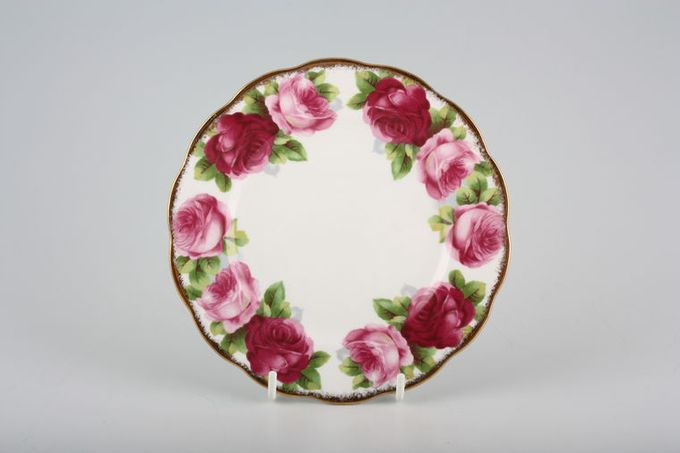 Royal Albert Old English Rose - New Style Tea / Side / Bread & Butter Plate Round 6 1/4""