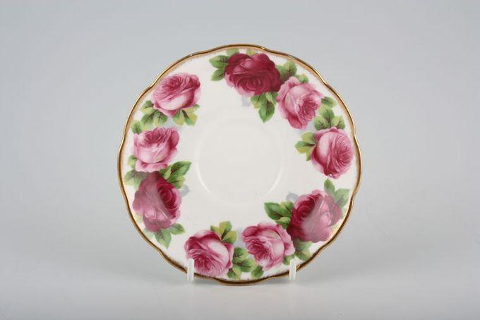 "Royal Albert Old English Rose - New Style Tea Saucer 5 1/2"""
