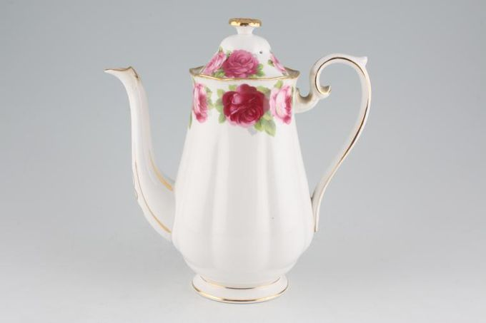 Royal Albert Old English Rose - New Style Coffee Pot large