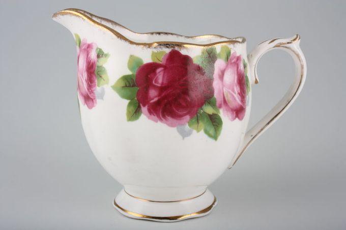 Royal Albert Old English Rose - New Style Milk Jug Shape B 1/2pt