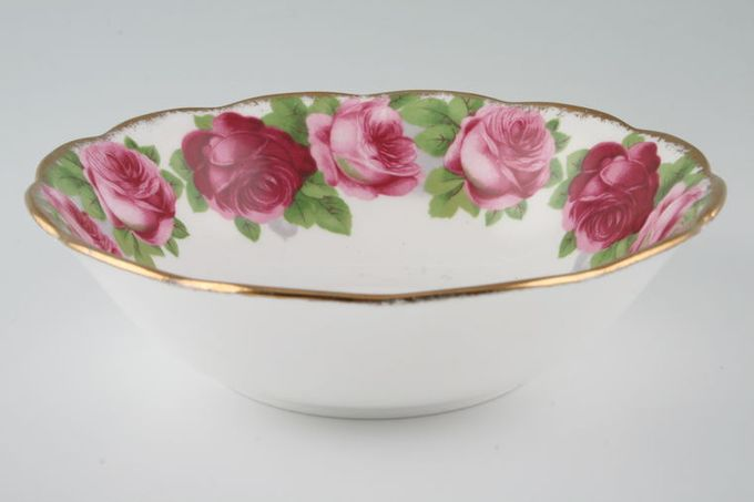 """Royal Albert Old English Rose - New Style Soup / Cereal Bowl 6 1/4"""""""