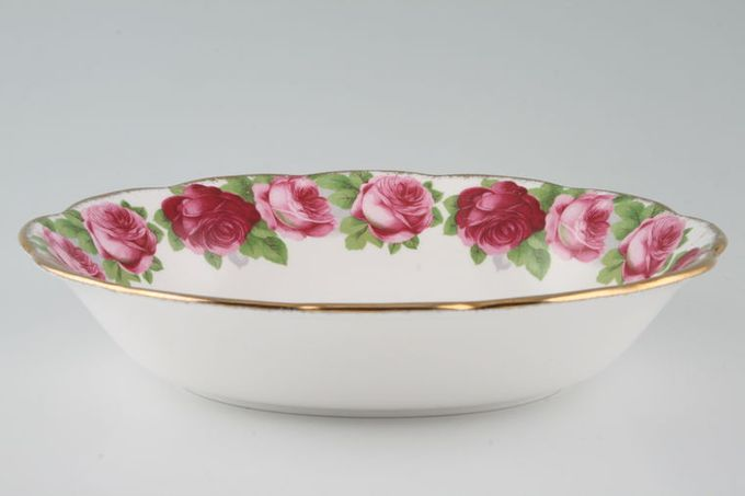 Royal Albert Old English Rose - New Style Vegetable Dish (Open) 9 1/4""