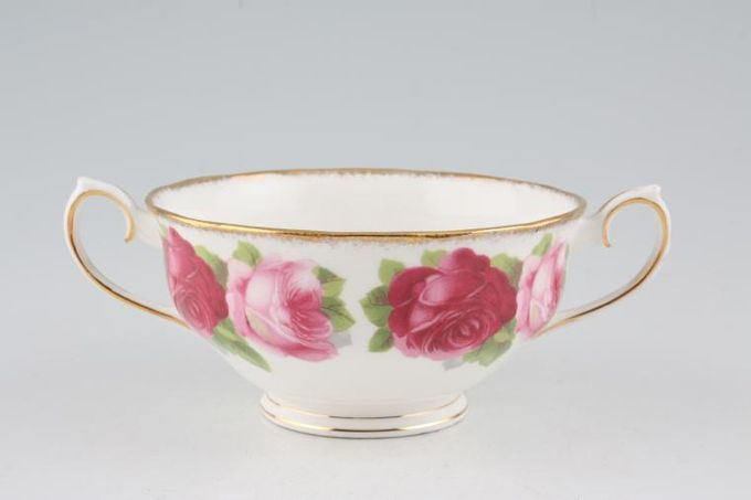 Royal Albert Old English Rose - New Style Soup Cup 2 handles